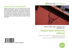 Bookcover of Oregon State University Athletes