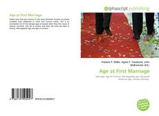 Couverture de Age at First Marriage