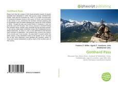 Portada del libro de Gotthard Pass