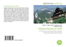 Bookcover of Federal Charter of 1291