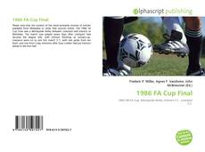 Bookcover of 1986 FA Cup Final