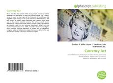Portada del libro de Currency Act