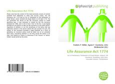 Bookcover of Life Assurance Act 1774
