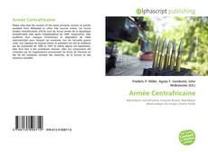 Bookcover of Armée Centrafricaine