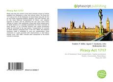 Bookcover of Piracy Act 1717
