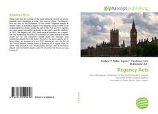 Regency Acts的封面