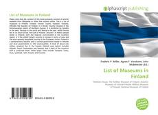 Обложка List of Museums in Finland
