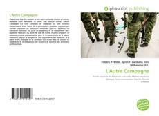 Обложка L'Autre Campagne