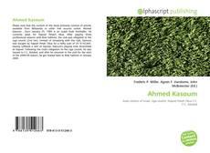 Bookcover of Ahmed Kasoum