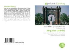 Portada del libro de Miquelet (Militia)