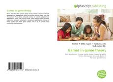 Bookcover of Games in game theory
