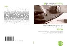 Bookcover of Thaler