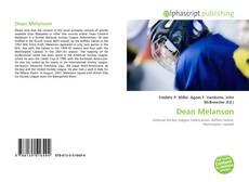 Portada del libro de Dean Melanson