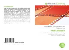 Bookcover of Frank Pierson