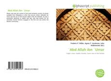 Bookcover of `Abd Allah ibn `Umar