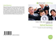 Portada del libro de Ashraf Barhom
