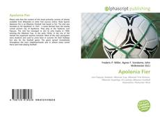 Bookcover of Apolonia Fier