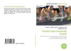 Bookcover of Florida State University People