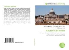 Bookcover of Churches of Rome