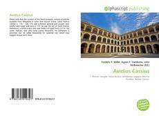 Bookcover of Avidius Cassius
