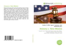 Arizona v. New Mexico kitap kapağı