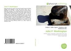 Bookcover of John P. Washington