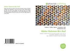 Abdur Rahman Bin Awf kitap kapağı