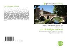 Обложка List of Bridges in Rome