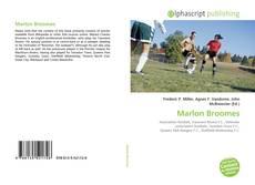 Capa do livro de Marlon Broomes