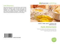 Huile Alimentaire kitap kapağı