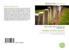 Couverture de Battles of Kfar Darom