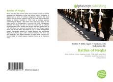 Couverture de Battles of Negba