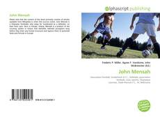 Bookcover of John Mensah
