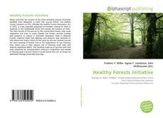 Copertina di Healthy Forests Initiative
