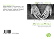Bookcover of Marie-Louise Meilleur