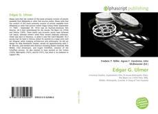 Bookcover of Edgar G. Ulmer
