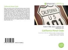 Borítókép a  California Penal Code - hoz
