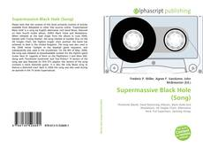 Bookcover of Supermassive Black Hole (Song)