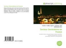 Couverture de Secteur Secondaire en France