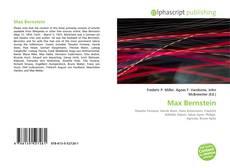 Borítókép a  Max Bernstein - hoz
