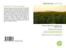 Borítókép a  Bioévaluation Environnementale - hoz