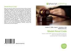 Borítókép a  Model Penal Code - hoz