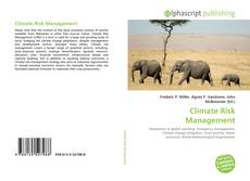 Bookcover of Climate Risk Management