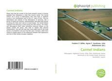 Capa do livro de Carmel Indians