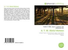 Bookcover of A. T. M. Abdul Mateen