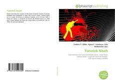 Capa do livro de Yannick Noah