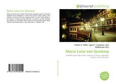 Buchcover von Maria Luise von Quistorp