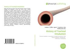Couverture de History of Tracheal Intubation
