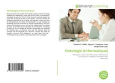 Bookcover of Ontologie (Informatique)