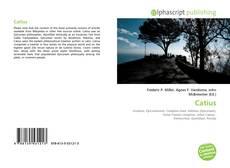 Catius kitap kapağı